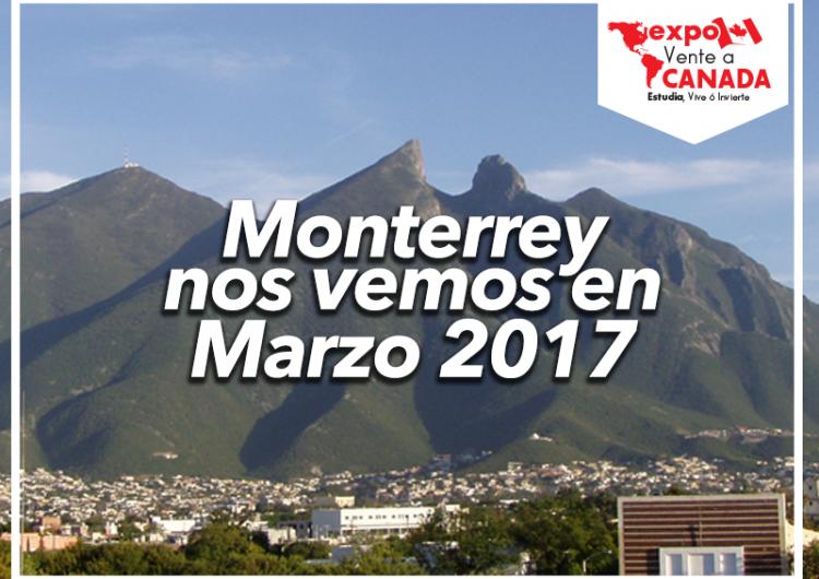La expo Vente a Canadá llegará a Monterrey el 23 de marzo ¡Prepárate!