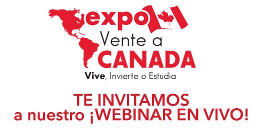 Seminario en VIVO desde Canadá para todo el mundo