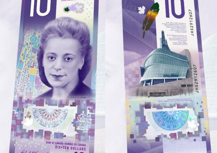 Billete de $10 canadiense es nombrado el mejor del mundo