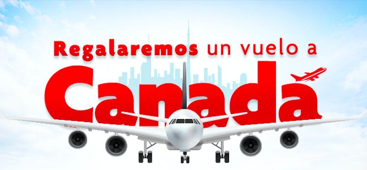¡Usted puede ganar un vuelo a Canadá en nuestras Expos en Colombia!