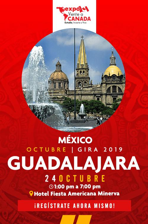 Expo Vente a Canadá Guadalajara inscripciones