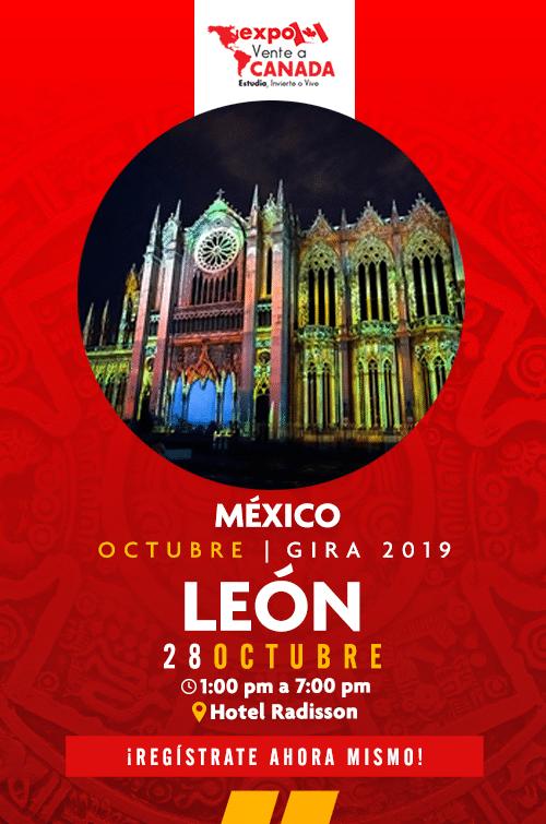 Expo Vente a Canadá León inscripciones